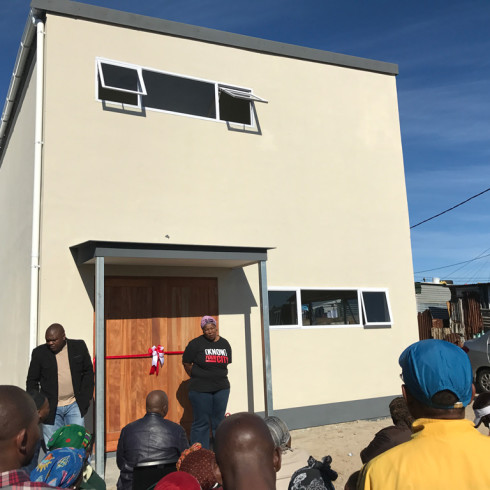 UFCC SolidWall Projects - Community Hall in Khayelitsha 2